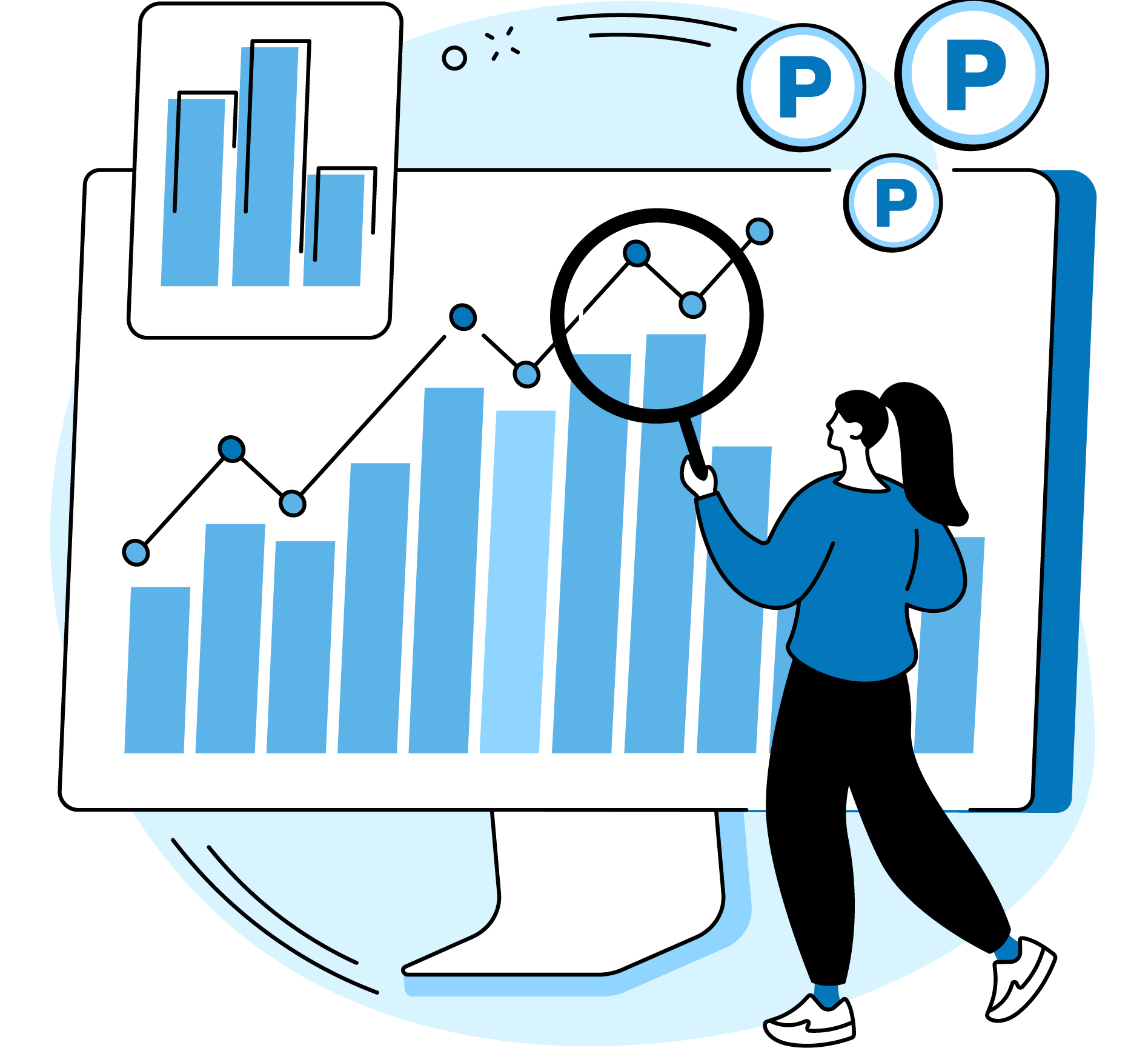 reporting corporate accounts parkmate